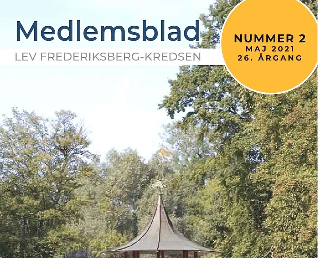 Forside bladet Lev Frederiksberg 2 2021